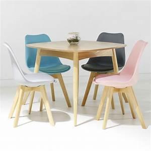 Chaise Scandinave Accoudoir : chaise scandinave loumi bleu ~ Teatrodelosmanantiales.com Idées de Décoration
