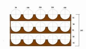 Lattice Wine Rack Dimensions Plans DIY cedar potting table