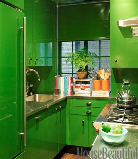 apple green paint kitchen green kitchens ideas for green kitchen design 4163