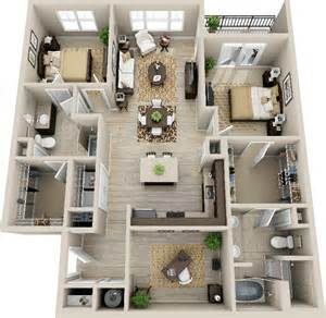 simple house with apartment plans placement 3d 2 bedroom apartment search deco