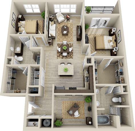 smart placement house design plans ideas 3d 2 bedroom apartment search deco