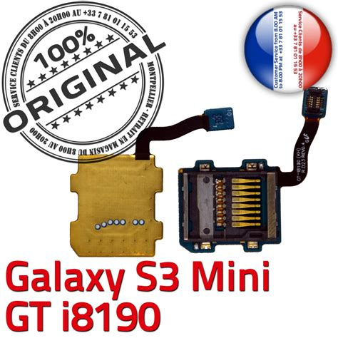 original samsung galaxy  gt  connecteur carte sd