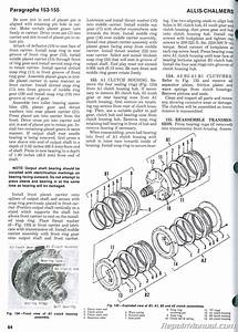 Allis Chalmers 8010 8030 8050 8070 Farm Tractor Service Manual
