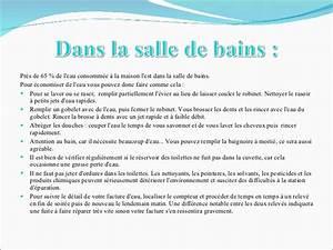 Comment Demineraliser De L Eau : comment economiser de l eau a la maison ventana blog ~ Medecine-chirurgie-esthetiques.com Avis de Voitures