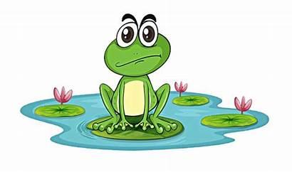 Frog Pond Cartoon Clipart Library Clip Transparent