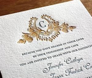 Invitaciones de boda elegantes y originales solo para ti for Most formal wedding invitations