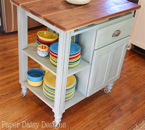 diy kitchen island cart diy kitchen island cart