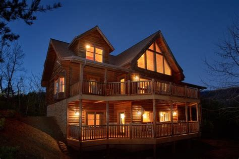 6 Bedroom Cabins In Gatlinburg by Quot Royal Vista Quot Luxury 6 Bedroom Gatlinburg Cabin Rental