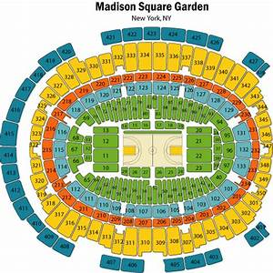 Madison square garden map afputracom for Garden seating chart