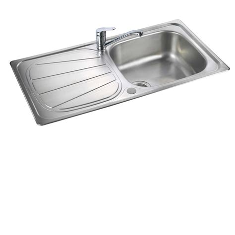 stainless steel kitchen sink rangemaster baltimore bl9501 stainless steel sink 8813