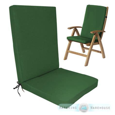 green kitchen chair cushions highback garden dining chair cushion pad outdoor furniture 4005