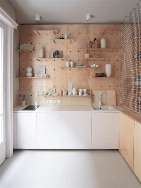 etagere cuisine bois le rangement mural comment organiser bien la cuisine