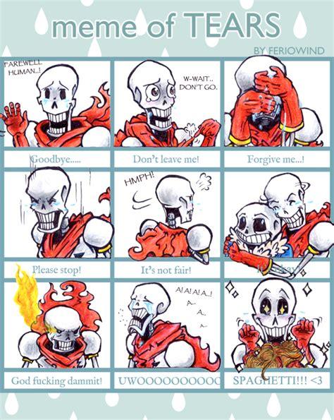 Papyrus Memes - meme undertale sans emotions pictures to pin on pinterest thepinsta