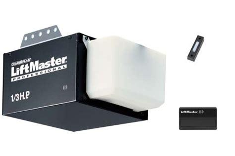 lift master garage door opener liftmaster vs chamberlain garage door openers
