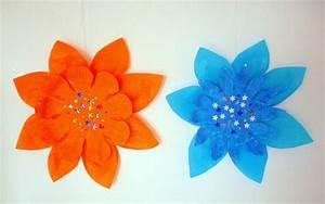 Blumen Basteln Fensterdeko : blumen aus wolle und filz pflanzen basteln meine enkel und ich ~ Markanthonyermac.com Haus und Dekorationen