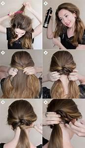 Model Coiffure Femme : quelle coiffure facile cheveux long vous va et comment la r aliser 67 id es ~ Medecine-chirurgie-esthetiques.com Avis de Voitures
