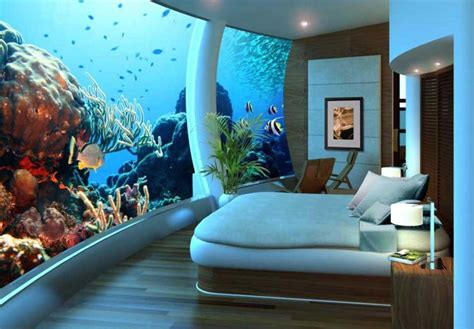 underwater suites  flying rooms