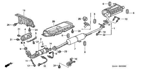 Honda Online Store Crv Exhaust Pipe Muffler Parts