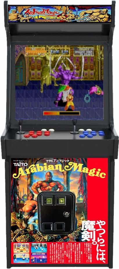 Arabian Magic Launchbox Arcade Cabinet