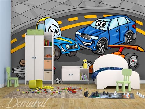 spiele mit autos spiel mit autos fototapeten f 252 r jungenzimmer fototapeten demural