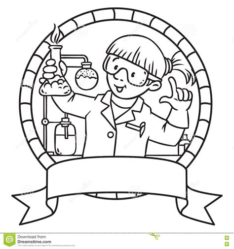 chemical cartoons illustrations vector stock images