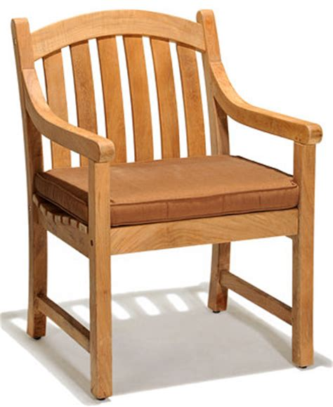 bristol teak outdoor dining chair furniture macy s