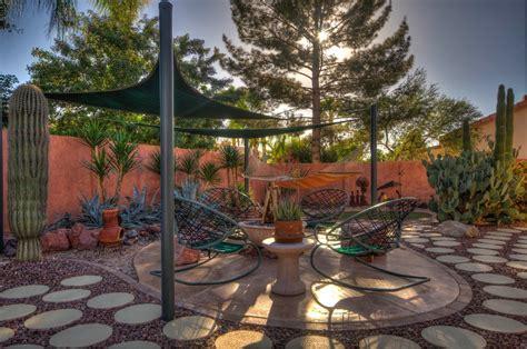 Backyard Desert Landscape Designs by Desert Backyard Landscaping Search Home