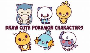 kawaii pokemon Archives - How to Draw Step by Step Drawing ...