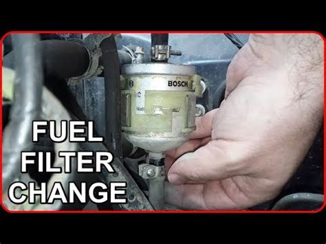 Why Change Fuel Filter by Fuel Filter Change Nissan Micra