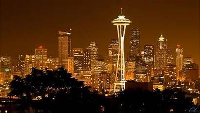 Seattle Desktop Needle Space Wallpapers Usa Washington