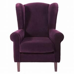 Fauteuil Enfant Fille : fauteuil enfant en velours violet velvet maisons du monde ~ Teatrodelosmanantiales.com Idées de Décoration