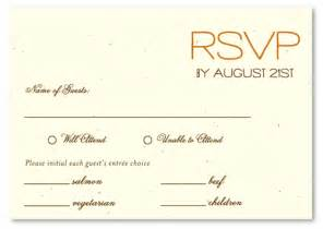 customizable wedding programs plantable paper rsvp cards on seeded paper sacred