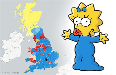 uk election map   maggie simpson  york daily