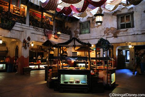 Tusker House by Disney World Day Menus