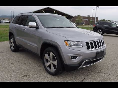 new 2015 jeep grand cherokee limited 4x4 silver