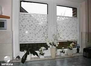 Vorhänge Für Küchenfenster : sensuna plisseevorh nge vom handelsring blog heimtextilien ~ Markanthonyermac.com Haus und Dekorationen