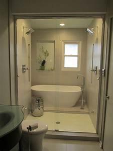Bath, Behind, Shower, Combination