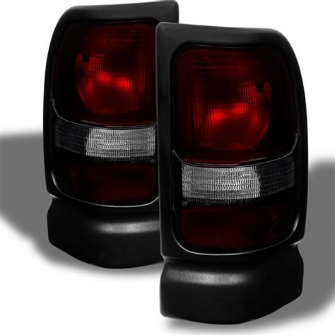 dodge ram tail lights xtune 1994 2001 dodge ram 1500 tail lights