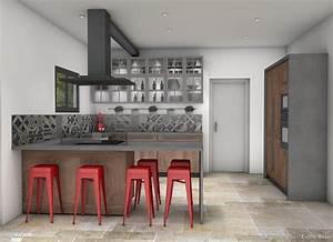 Style Et Deco : cuisine style bistrot chic er d coration c t maison ~ Zukunftsfamilie.com Idées de Décoration