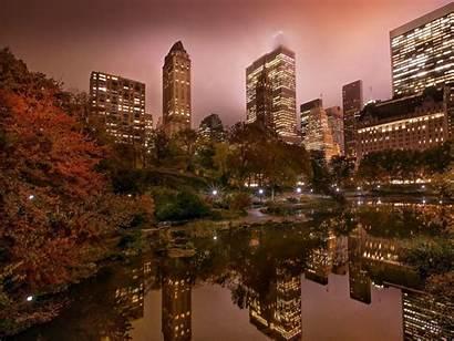 York Park Central Pond Desktop Background Wallpapers