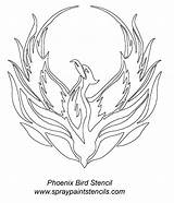 Phoenix Bird Tattoo Stencil Tattoos Drawing Celtic Pencil Ashes Coloring Birds Pages Designs Stencils Draw Photobucket Drawings Firebird Wordpress Sketches sketch template