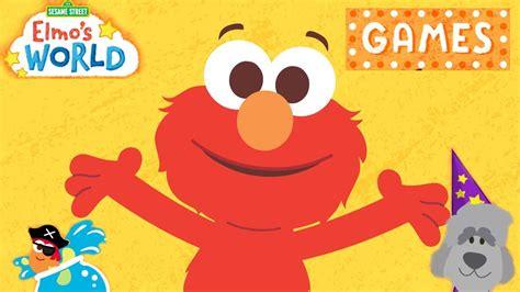 123 Sesame Street Elmo's World Games (pbs Kids Games
