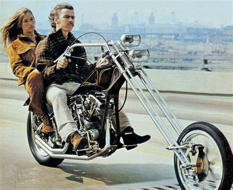 The History Of The Chopper Motorcycle