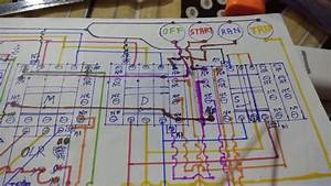 Star Delta With Timer Starter Power Control Indication Wiring Diagram  By Bidyut Electricals