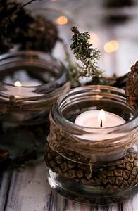 Homemade, Candle, Holder, Ideas