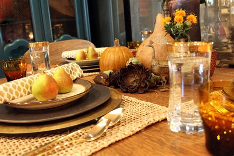 aesthetically speaking thanksgiving tablescape kishani