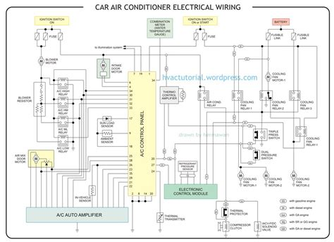 electrical wiring car air conditioner electrical wiring