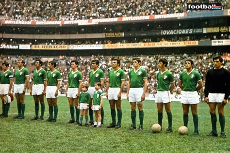 Mexique 1970. Coupe Du Monde.