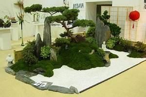 der kleine japangarten With französischer balkon mit miniatur zen garten