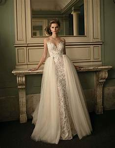 stunning wedding dresses with overskirts With how much do berta wedding dresses cost